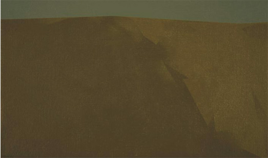 Sierra, 2004. Acrílico sobre tela, 24 x 41 cm