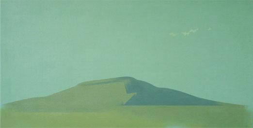 Sombra Azul.30x58cm.Acrílico-Tela.2008