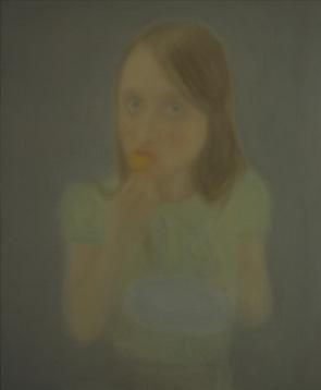 Synneve (la madeleine) óleo sobre lienzo 55 x 46 cm. 2008