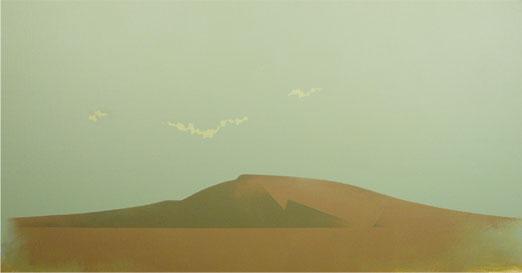 Tierras Rojas.30x57cm.Acrílico-Tela.2009
