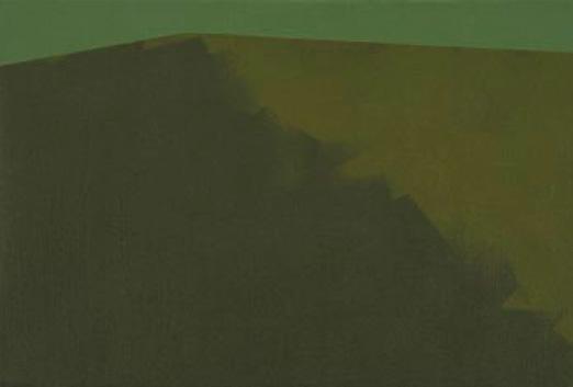 Umbrío, 2005. Acrílico sobre tela, 22 x 33 cm.