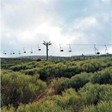 Valdesquí (2003), copia lambda sobre aluminio, 75 x 75 cm.