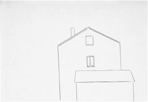 Sin título 2004 lápiz / papel 16,5 x 24,5 cm