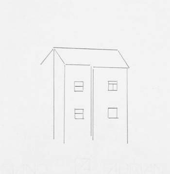 Sin título 2004 lápiz / papel 24,5 x 16,5 cm