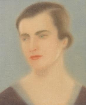 Marga Gil Roësset 2012 óleo sobre lienzo 27 x 22 cm.