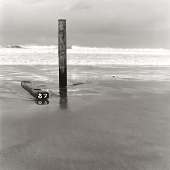 1988 La Barrera Oceánica 05 - Positivo cloro-bromuro, virado al selenio - 30 x 30 cm