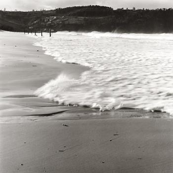 1988 La Barrera Oceánica 06 - Positivo cloro-bromuro, virado al selenio - 72 x 72 cm