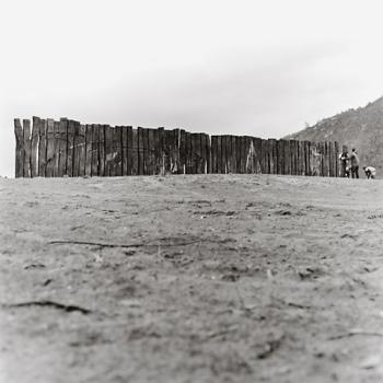 1988 La Barrera Oceánica 01 - Positivo cloro bromuro, virado al selenio - 30 x 30 cm