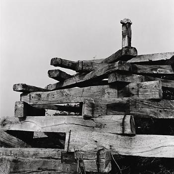 1998 el Oriciu en Les Vallines 2 - Positivo cloro-bromuro, virado al selenio - 30 x 30 cm