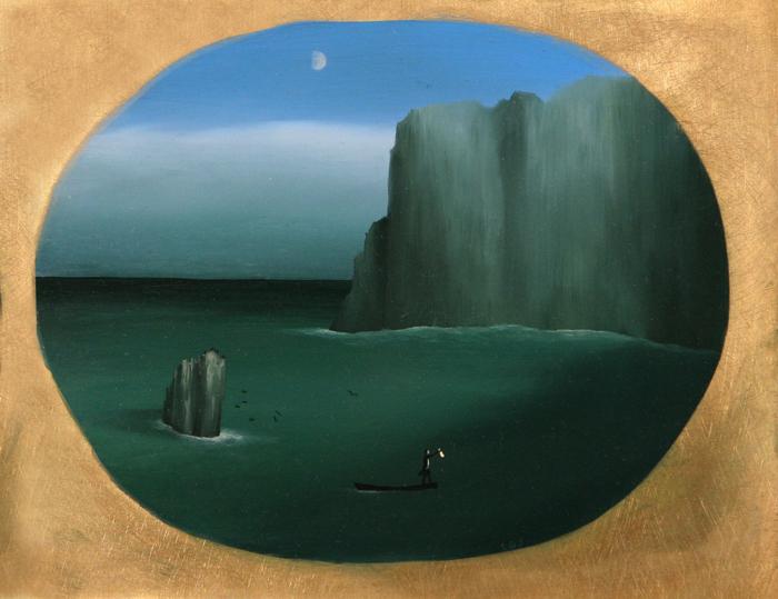 Finisterre  - Óleo sobre lienzo - 19x23.5