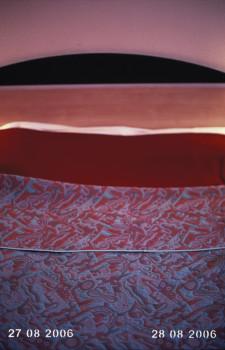 Montpellier - Tinta pigmentada en papel fotográfico, perforación láser, 45 x 30 x 4 cm. Edición de 3+2 AP