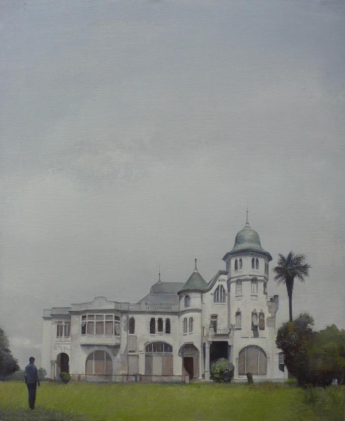 Villa Excelsior exterior, 2014 - 73x60 cm