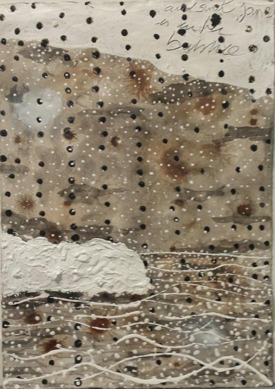 Manuel Valencia. Serie Cartas, 2012-22015, técnica mixta, 50x35cm