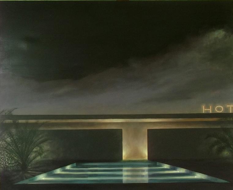 Hot (2015). Óleo/lienzo, 90 x 110 cm.