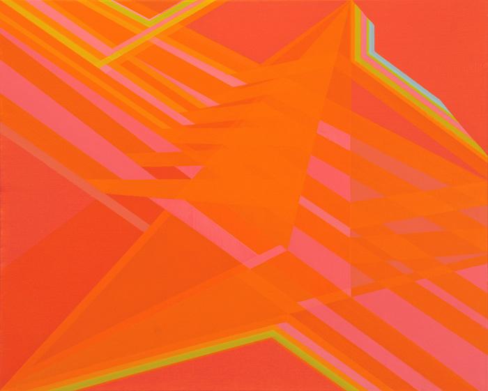 Cantiga de Suso II. 65x81cm. Acrílico/lienzo. 2013