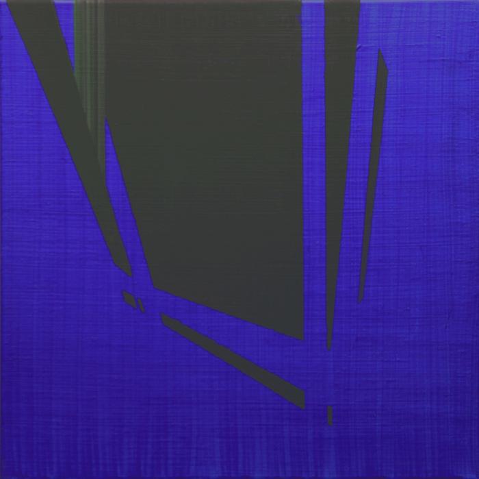 Agua y ceniza I. 40x40cm.  Acrílico/lienzo. 2012