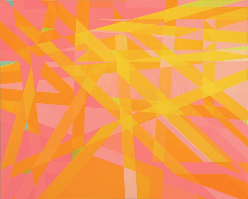 Cantiga de Suso V. 65x81 cm. Óleo y acrílico/lienzo. 2014