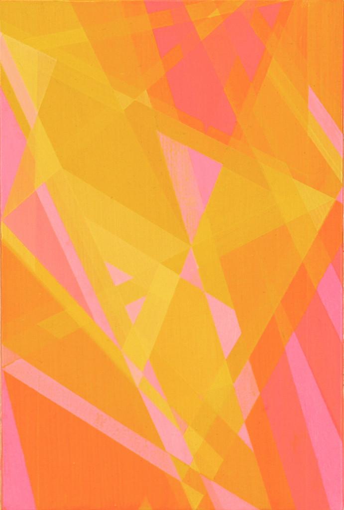 Rescoldos I. 33x22 cm.  Óleo y acrílico/lienzo. 2014
