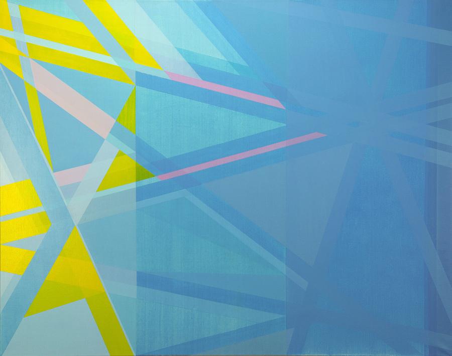 Retorno a Tipasa II. 150x190cm.Acrílico/lienzo.2013