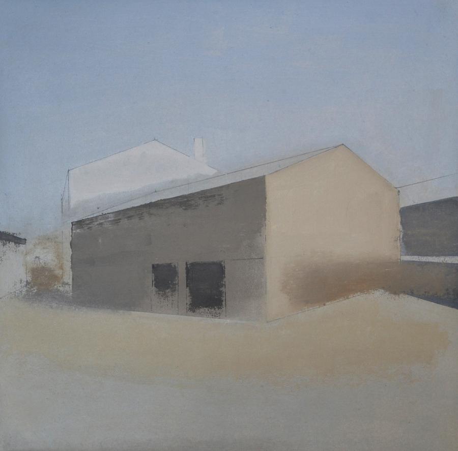 Casa Portugal, 2016 - Óleo sobre lienzo 60 X 60 cm