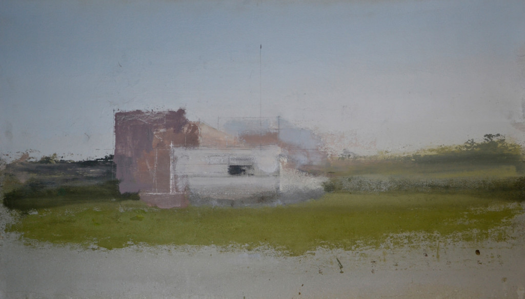 Naves de Fuencarral, 2015 - Óleo sobre lienzo - 70 x 122 cm