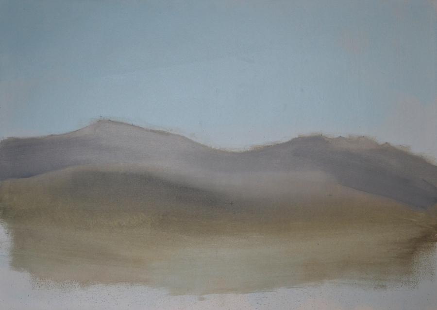 Pico del Lobo, 2016 - Óleo sobre lienzo 73 X 100 cm