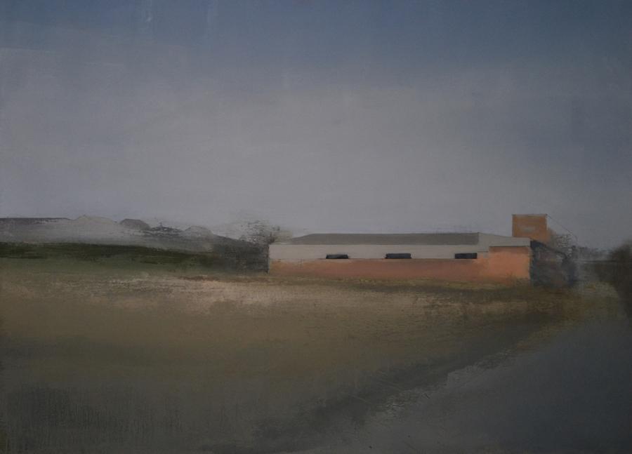 Tres olivos, 2016 - Óleo sobre lienzo 90 X 122 cm