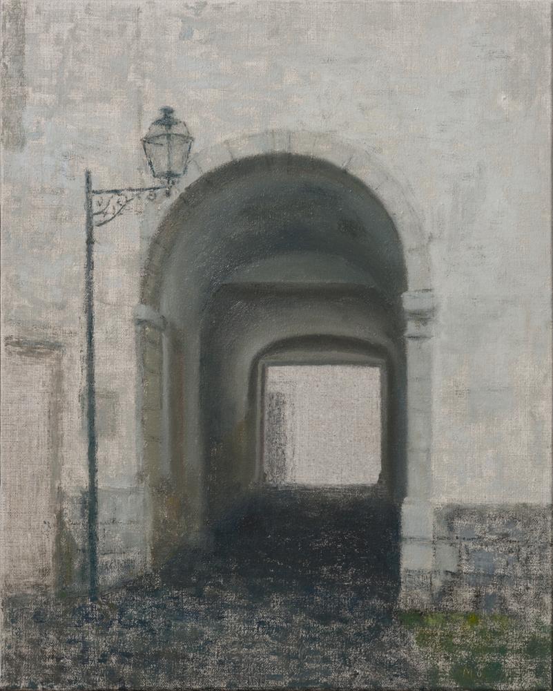Lisboa - Pátio de Dom Fradique O-L 41x33