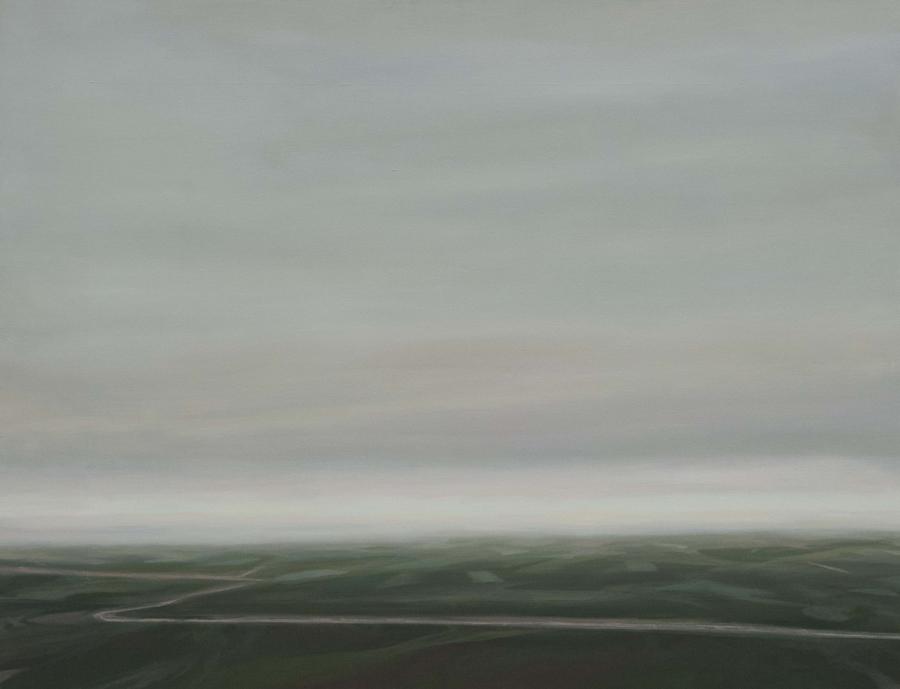 Ya se han ido III, 2017, óleo / lienzo, 100 x 130 cm.