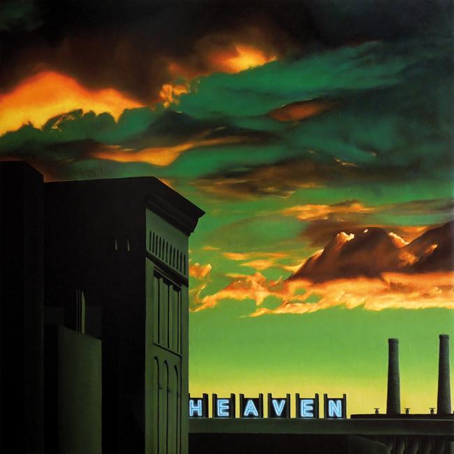 Heaven (70x70 cm) Óleo sobre lino, 2017