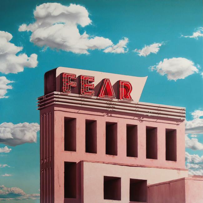 Fear (100x100 cm) Óleo sobre lino, 2017
