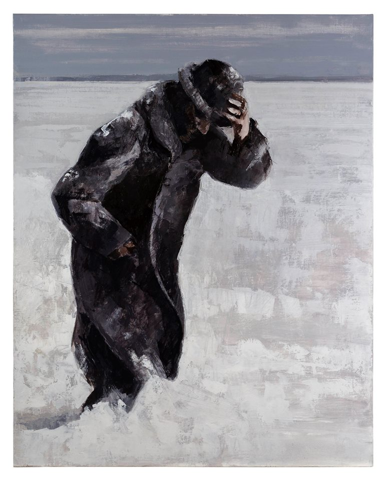 Winterreise, 2019. Óleo sobre lienzo, 92 x 73 cm.