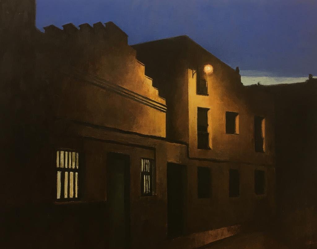 Calle de Abel, 2019 Óleo sobre lienzo 65 X 81 cm