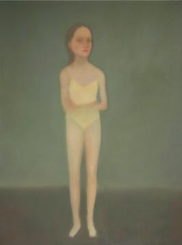 Chechu Álava   Bailarina  (2008-2009) óleo / lienzo, 130 x 97 cm.