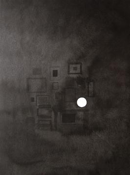 Colección II, 2013. Tinta china sobre papel Montval, 40 x 30 cm.