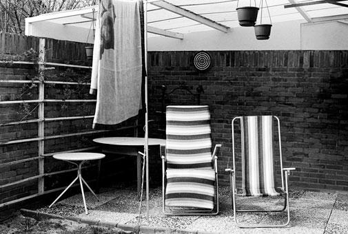 Bernd Große Ehepaar Egmond,1979 Gelatina de plata - vintage 14,8X21,7 cm.