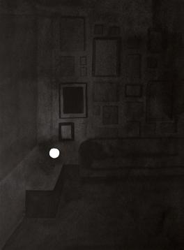 Colección III, 2013. Tinta china sobre papel Montval, 40 x 30 cm.