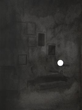 Colección IV, 2013. Tinta china sobre papel Montval, 40 x 30 cm.