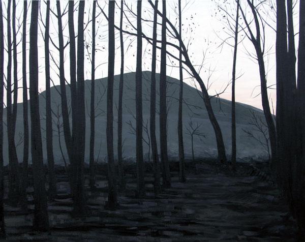 Bosque - óleo/lienzo 73 x 92 cm.