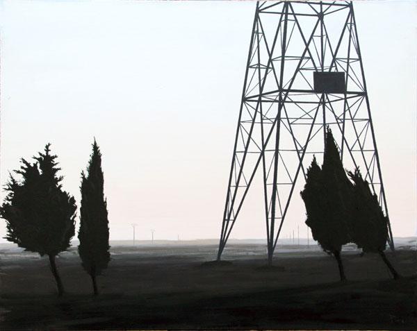 Gigante - óleo/lienzo 73 x 92 cm.