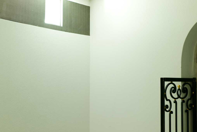 Bernd Große Grünzweiß schwarz, 2009 Pigmentos sobre papel de algodón 13,5X20,5 cm.