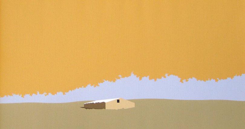 Majada.-Cielo-Ocre-41x76-cm-Acrílico-lienzo-2011