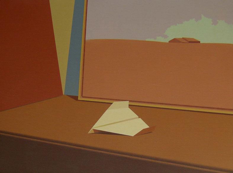 Origami-Majada-y-Nube-51x68-cm-Acrílico-lienzo-2011