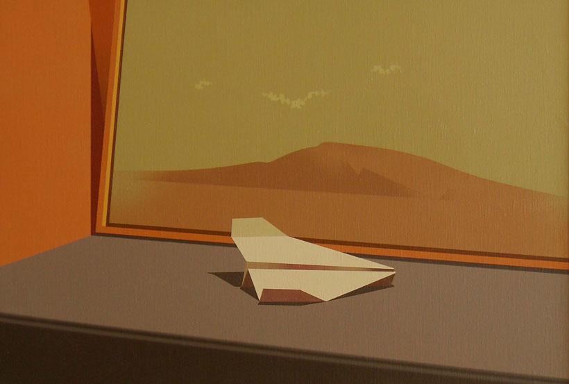 Paisaje-y-Origami-41x60-cm-Acrílico-lienzo-2012
