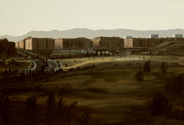 Sierra de Guadarrama - óleo/lienzo 89 x 130 cm.