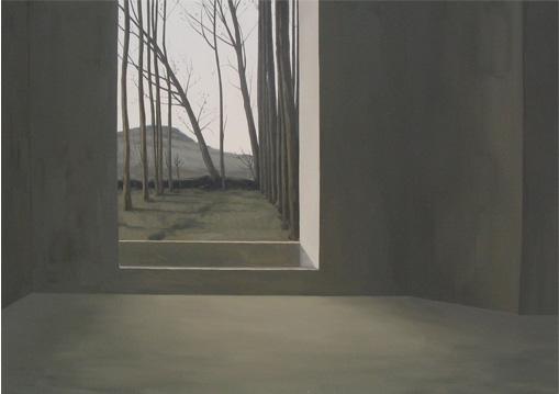Alameda seca - óleo/lienzo 114 x 162  cm.