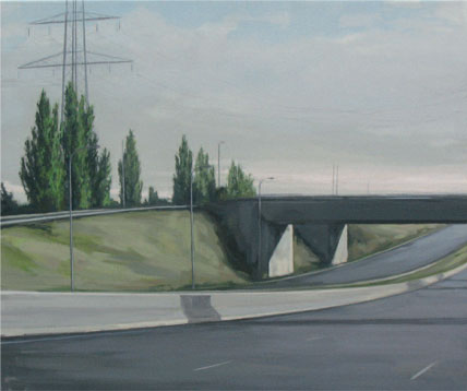 Autopista. 2007. 46 x 55 cm.