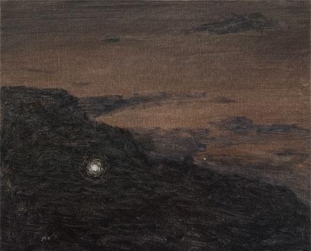 Os Cañois, 2006 Óleo sobre lino 33X41 cm.