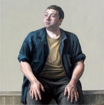Pablo. 2007. 130 x 130 cm.