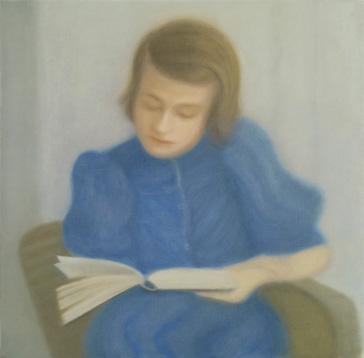 Sophie Scholl 2012 óleo sobre lienzo 50 x 50 cm.